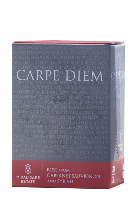 Carpe Diem Rose, Bag-in-Box