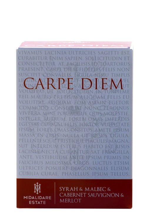 Carpe Diem Red, Bag-in-Box