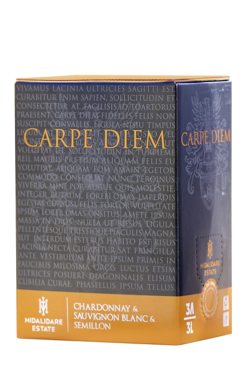 Carpe Diem White, Bag-in-Box