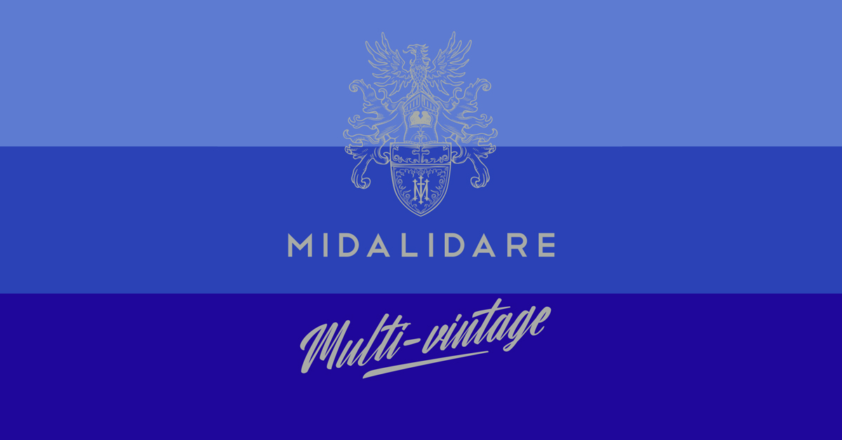Midalidare Multi-vintage label
